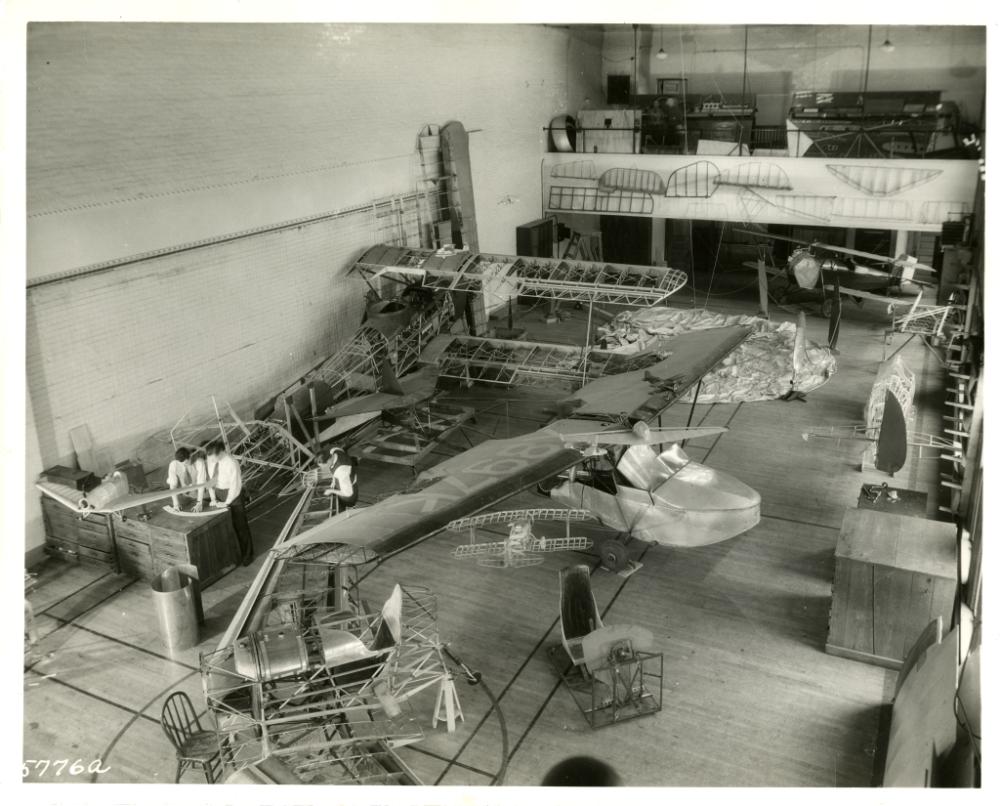 Aircraft under construction
