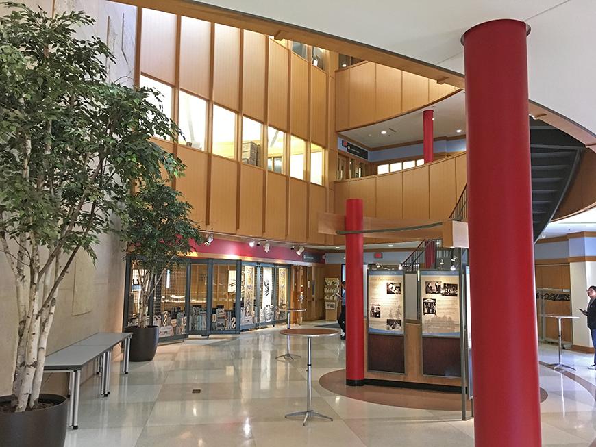 Andersen Library lobby