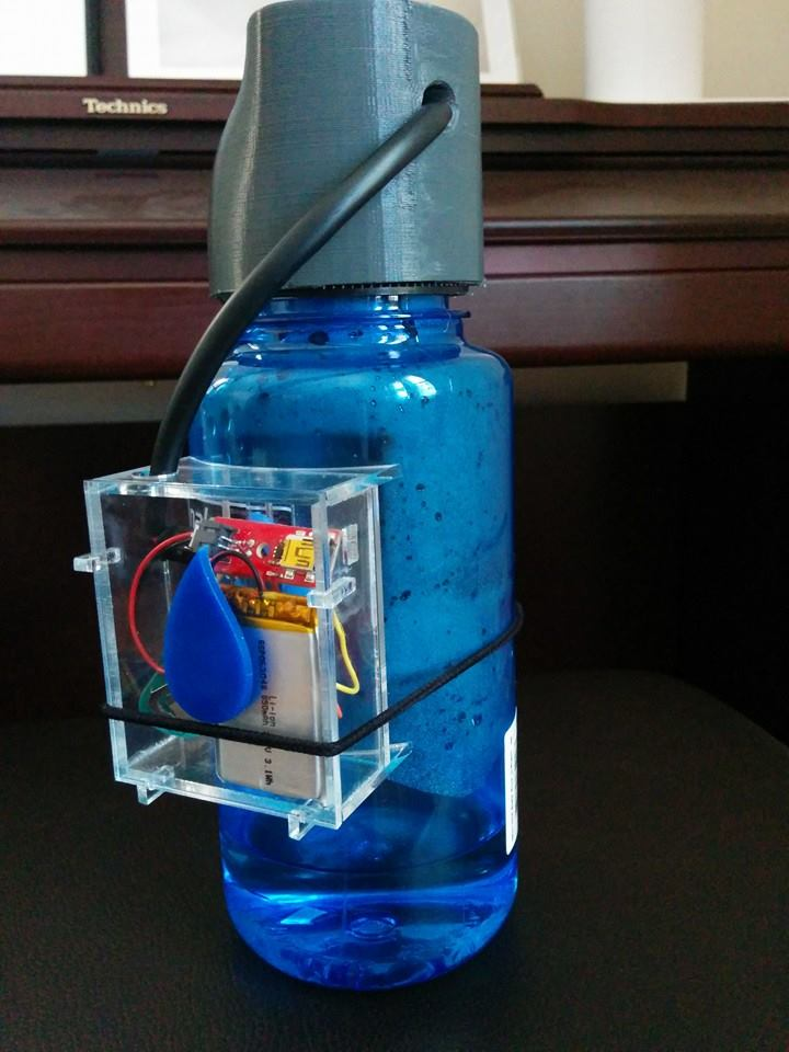 Water bottle prototype