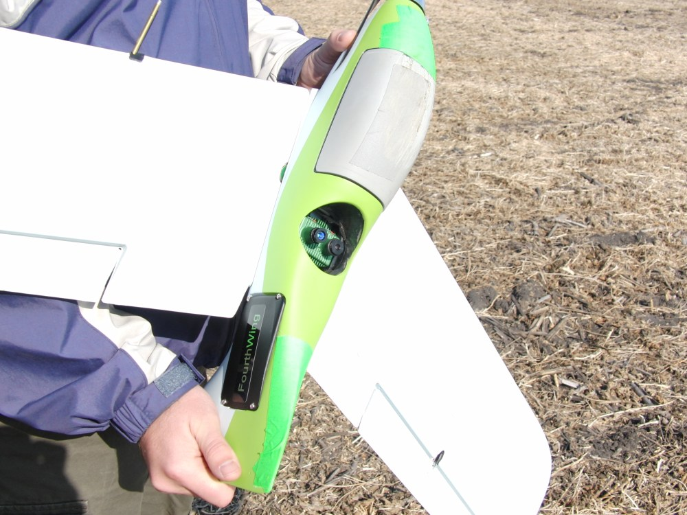 The UAV Lab tests its Goldy system for precision agriculture, monitoring the health of crops from high above.