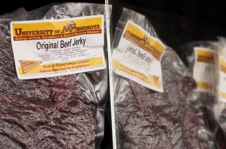 Beef jerky, U of M Meat Lab