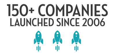 More than 150 companies launched since 2006
