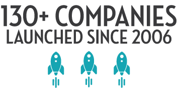 More than 130 companies launched since 2006