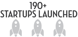 Over 190 Startups Launched