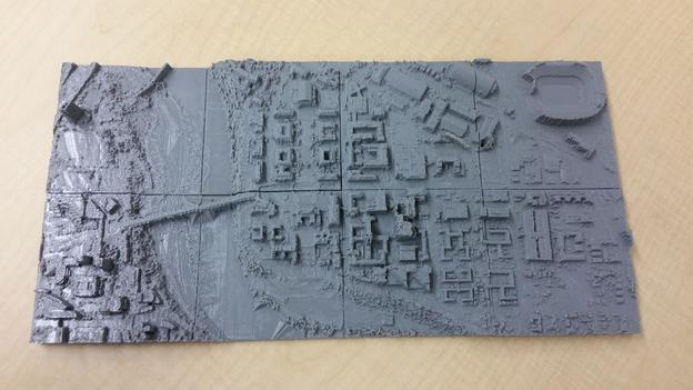3D Printing Models derived from Lidar Data | Office of the Vice