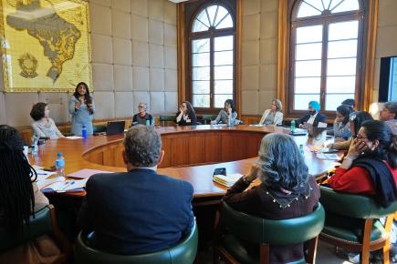 EIO participants at a World Trade Organization meeting