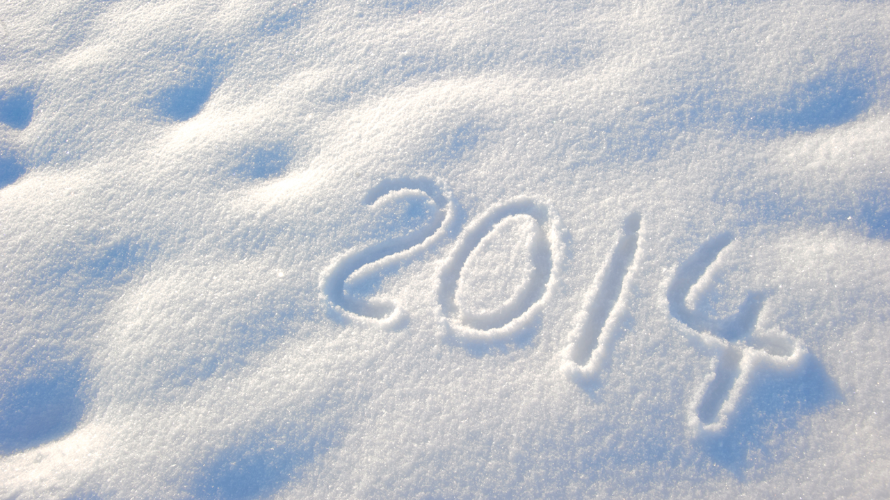 2014 written in snow