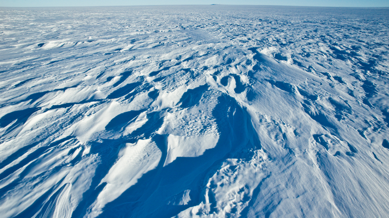 Plateau of ice