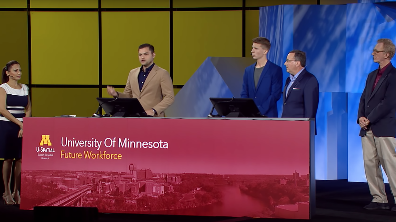 U of M experts presenting at the Esri User Conference