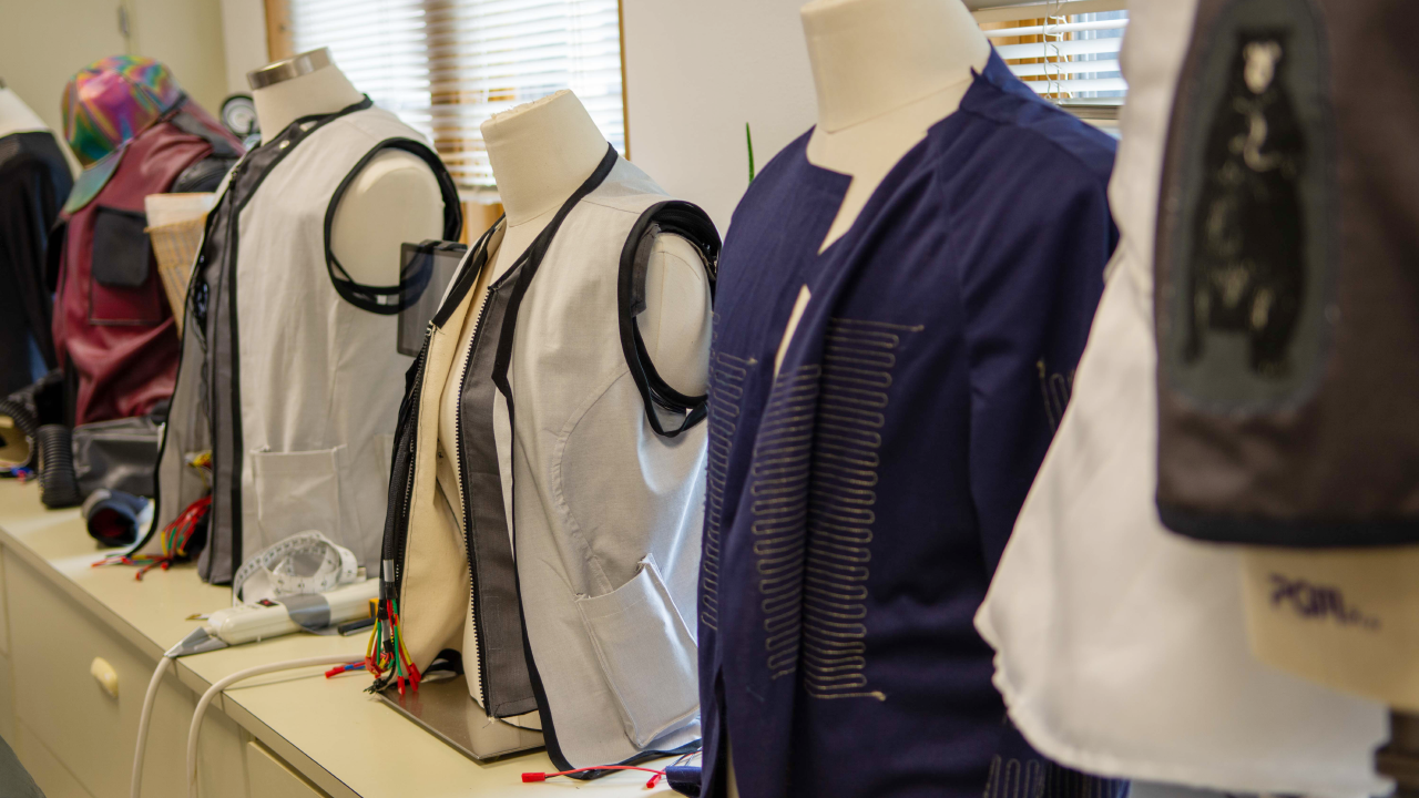 Garments in the Wearable Technology Lab