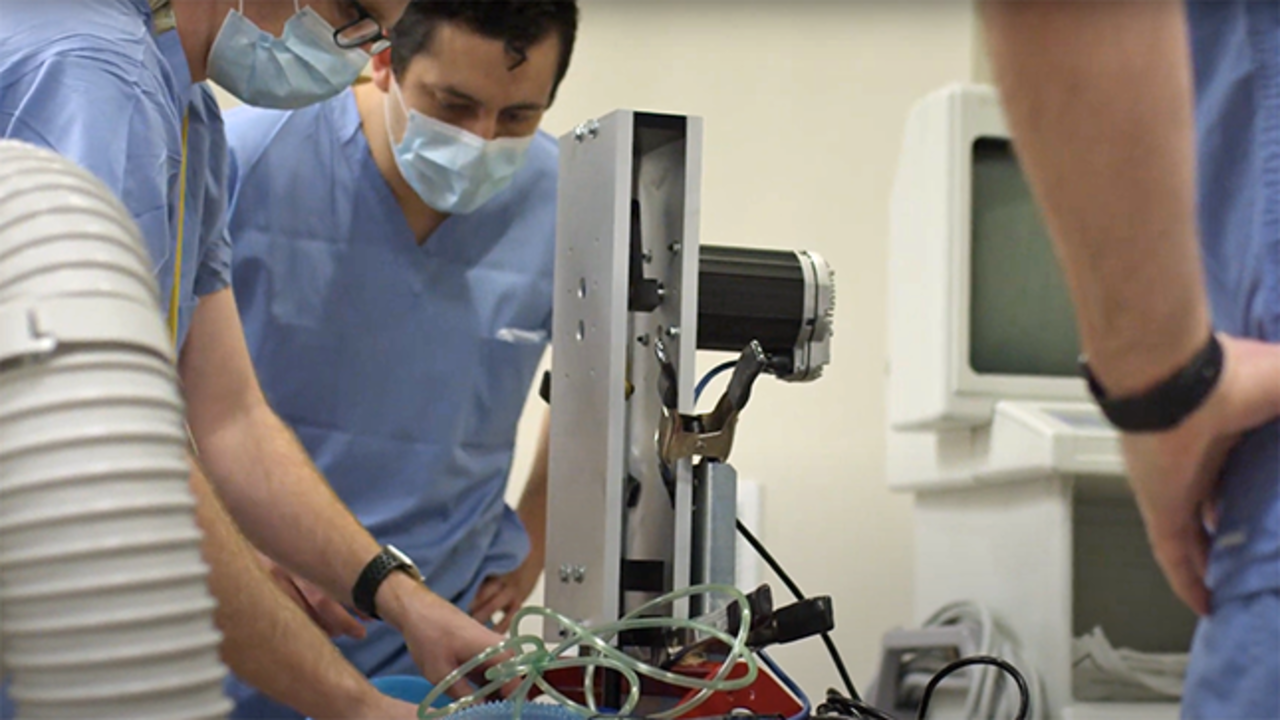 UMN researchers working on a new type of ventilator