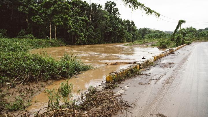 River in Puerto Rico