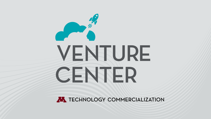 "Words reading ""Venture Center, Technology Commercialization"""