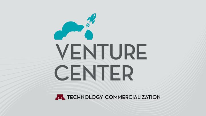 "Words reading ""Venture Center, Technology Commercialization"""