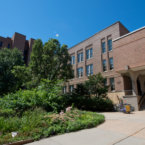 Exterior of Snyder Hall