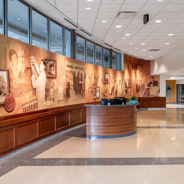 The Hormel Institute front lobby