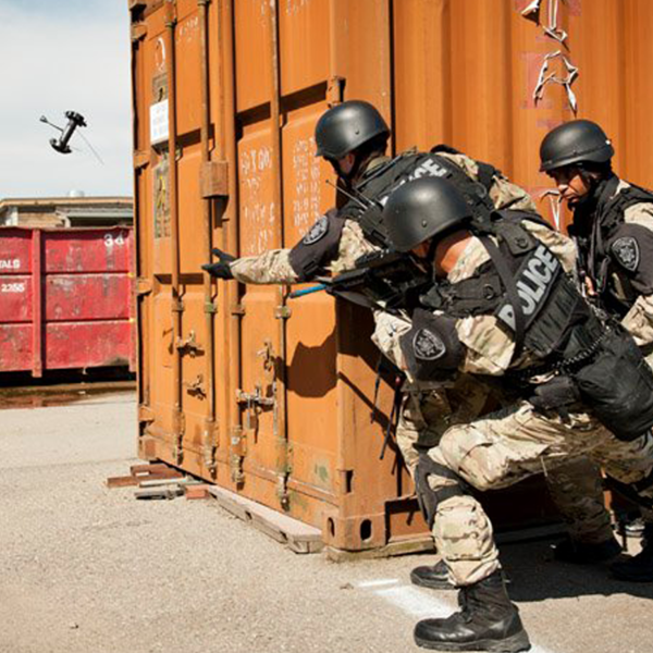 Swat team practice
