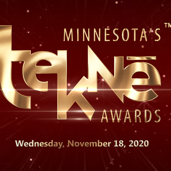 "Graphic reading ""Minnesota's Tekne Awards, Wednesday, Nov. 18"""
